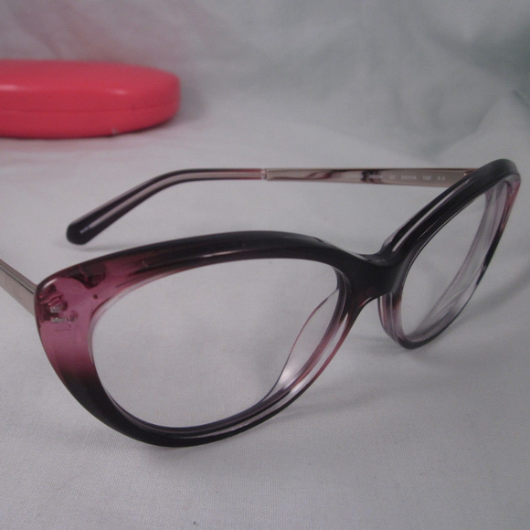58f45b1a26c kate spade Accessories - KATE SPADE Rx Eyeglasses LIVIA S Purple Silver